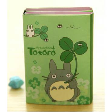 Carnet 6 volets Post-it Mon Voisin Totoro