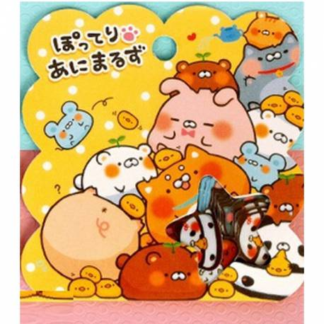 Stickers Japonnais Animaux Kawaii