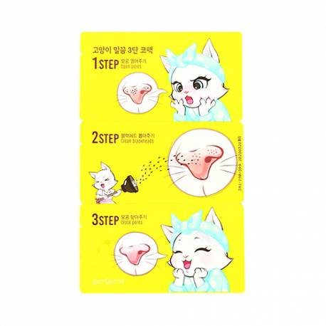 Patch Anti Points Noirs en 3 Temps Kitten 3 Step Nose Clear