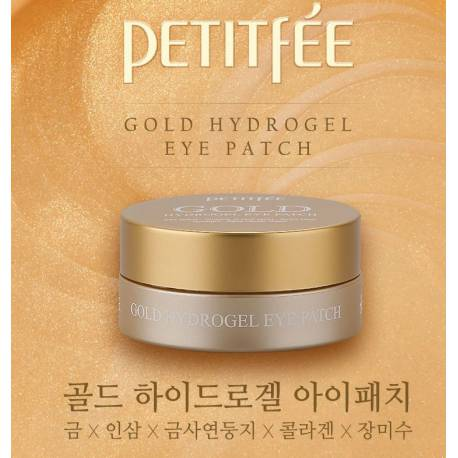 Patchs Yeux Hydrogel Or