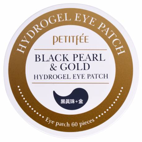 Patchs Yeux Hydrogel Or & Perle Noire
