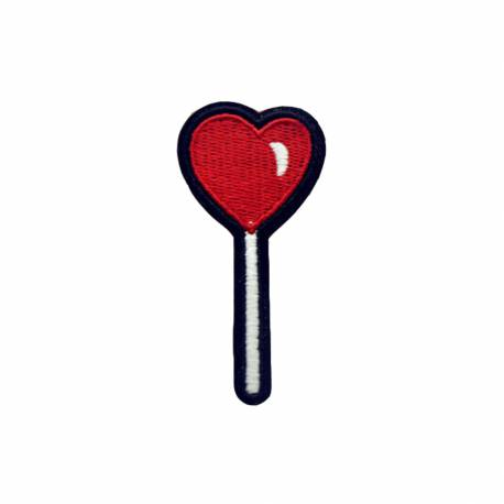 Patch Lolipop Cœur