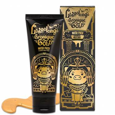 Milky Piggy Hell Pore Longo Longo Gronique Gold