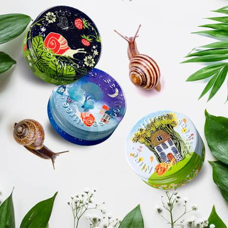 SEANTREE - Masque de Nuit Escargot Snail Steam Sleeping Mask