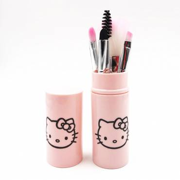 HELLO KITTY - Set de pinceaux maquillage